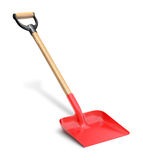 Red shovel Royalty Free Stock Photos
