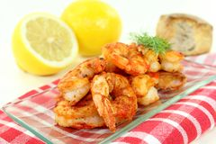 Red shrimp Stock Photography