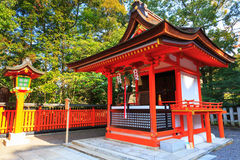 Red shrine Stock Photos
