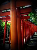 Red Shrines Stock Photography