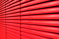 Red shutter Stock Photography