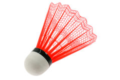 Red shuttlecock Royalty Free Stock Image