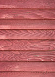 Red siding Royalty Free Stock Images
