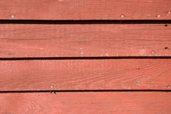 Red siding Stock Photo