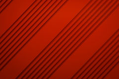 Red siding oblique line layout paper material background 3d rend Royalty Free Stock Images