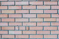 Red silicate brick wall masonry Royalty Free Stock Images