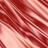 Red Silk. Red fabric with smooth silk texture Stock Images