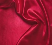 Red silk Stock Photography