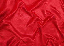 Red silk Stock Photos