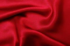 Red silk,. Fabric, elegant stock photography