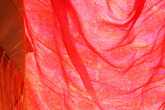 Red silk Stock Image