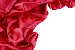 Red silk Stock Image