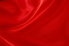 Red silk stock photo