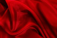 Red Silk Royalty Free Stock Images
