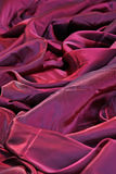 Red silk background Stock Images
