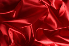 Red Silk Background Royalty Free Stock Image