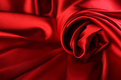Red Silk Background. Beautiful Abstract Red Silk Background Royalty Free Stock Photography