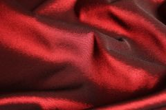 Red silk background Royalty Free Stock Photos