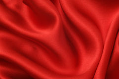 Red silk background Royalty Free Stock Photography
