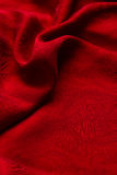 Red silk  background Stock Image