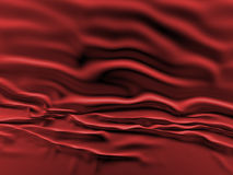 Red silk background. Stock Photo