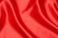 Red silk background for Valentines Royalty Free Stock Photography
