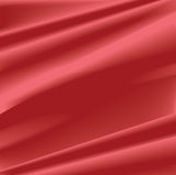 Red silk background Royalty Free Stock Photo