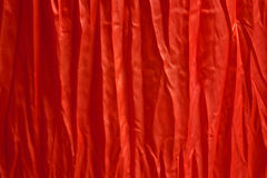 Red silk backgrounds Stock Photo