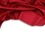 Red silk Royalty Free Stock Photography