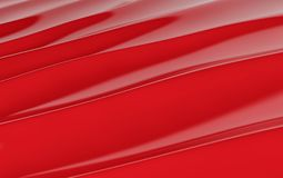 Red silk drapery and fabric background. 3d render. Ing Royalty Free Stock Photo