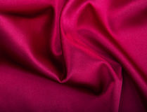 Red silk fabric background Royalty Free Stock Image
