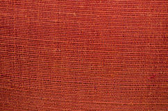 Red silk fabric background Stock Photography