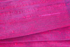 Red silk fabric Royalty Free Stock Images