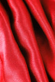 Red silk fabric texture Royalty Free Stock Photography
