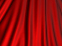 Red silk glossiness cloth background. 3d render illustration Royalty Free Stock Photos