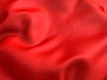Red silk luxury cloth texture background Stock Photo