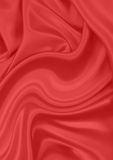 Red silk material Stock Image
