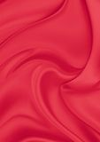 Red silk material Stock Photography