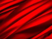 Red silk satin luxury elegant background Royalty Free Stock Image