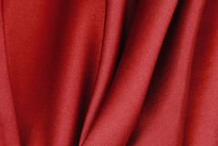 Red silk texture Royalty Free Stock Photos
