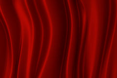 Red silk texture, 3d rendering Stock Photo