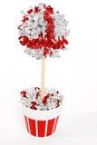 Red and silver lollipop tree  Stock Photos