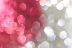 Red and silver sparkle background Royalty Free Stock Image