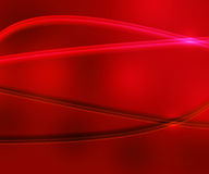 Red Simple Glossy Background Stock Image