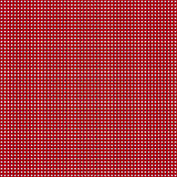 Red simple stripes abstract seamless vector pattern, primitive b Stock Images