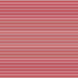 Red simple stripes abstract seamless vector pattern, primitive b Royalty Free Stock Photos