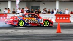 red singapore för formel för coupedriva driva Royaltyfri Foto