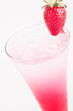 Red Sip Cocktail close up Royalty Free Stock Image