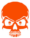 Red skeleton Stock Image