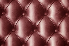 Red  skin leather imitation wallpaper background Stock Images